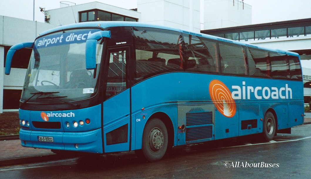 Before the Setras, Aircoach had some very plain Volvos