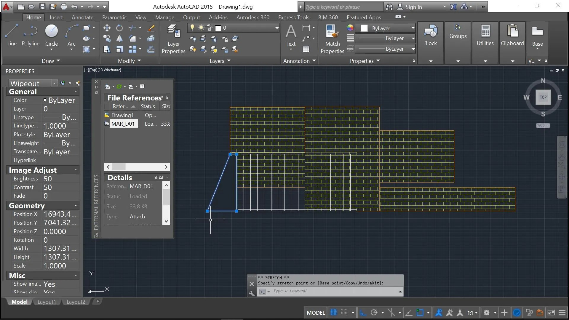 Wipeout tool Autocad