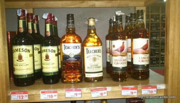 виски в Камбодже