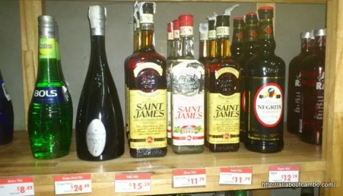 цены на алкоголь в камбодже