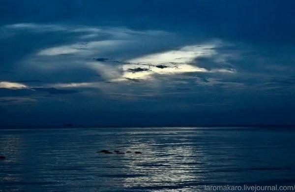 море в кепе в камбодже