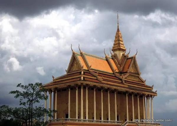центр буддизма недалеко от Пномпеня