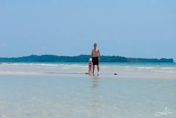 море в сиануквиле, камбоджа