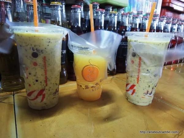 натуральная пища в камбодже