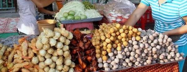 шашлычки в Камбодже