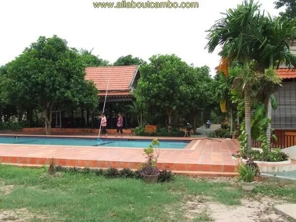отель на острове, камбоджа