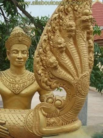 статуи в камбодже