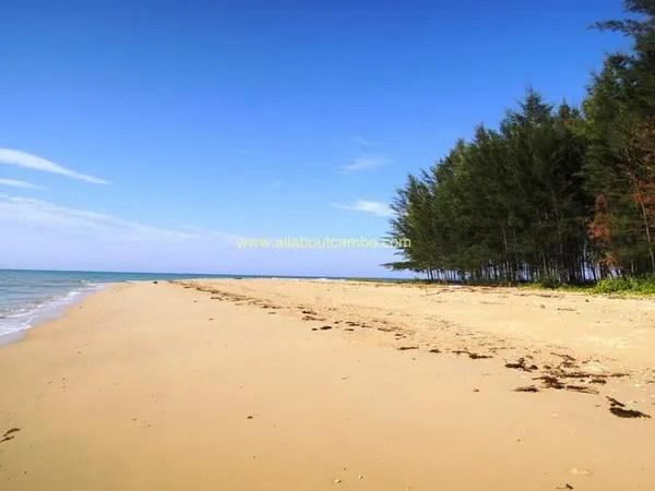 песчаные пляжи камбоджи