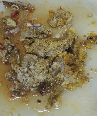 салат из сот, еда в камбодже