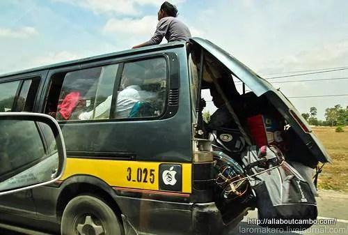 как ездят в Камбодже