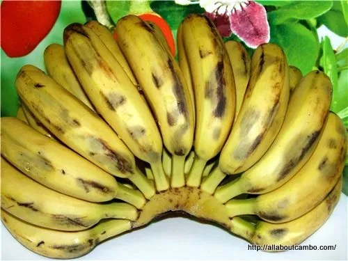 сладкие бананы в камбодже