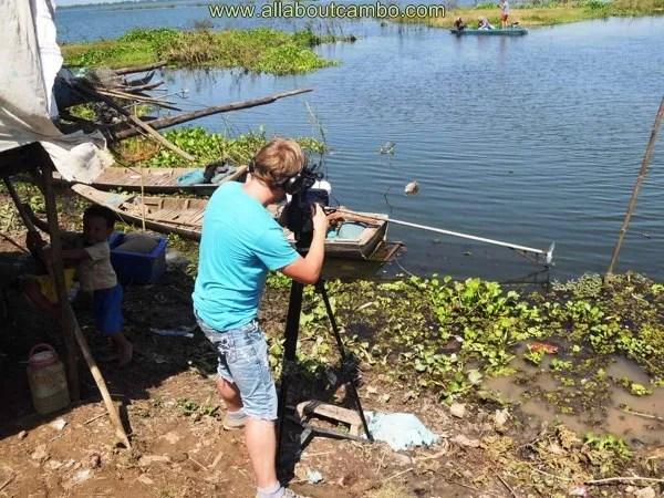 съемки в деревни камбоджи