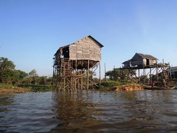 кхмерские дома