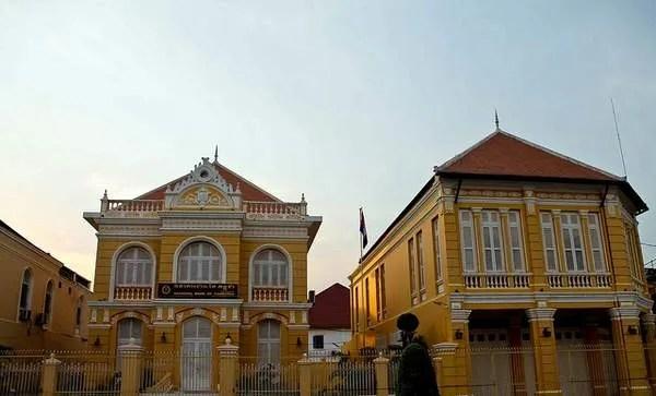 дома в Батамбанге