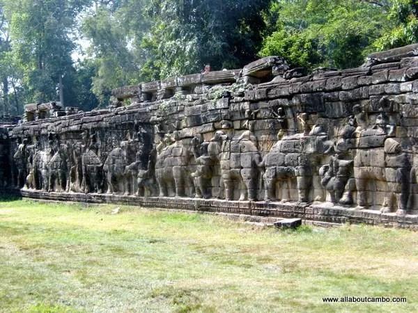 терраса слонов, Ангкор