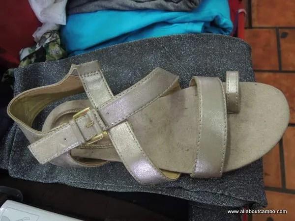 сандали из Камбоджи