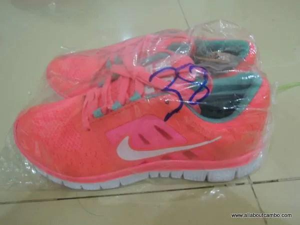 Nike в Камбодже