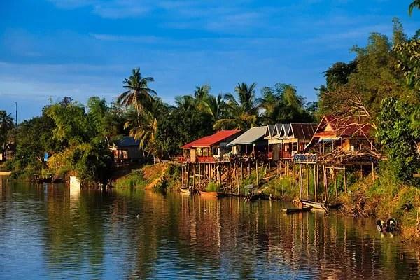 острова на меконге