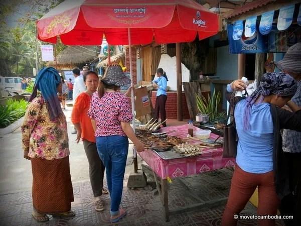 крабы в камбодже