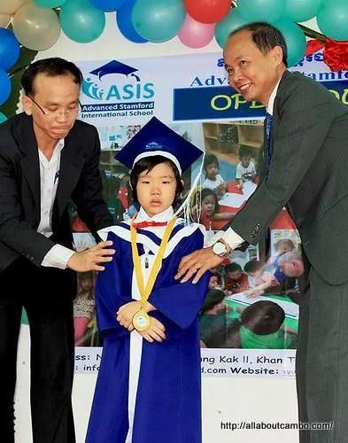 обучение ребенка в школах Камбоджи