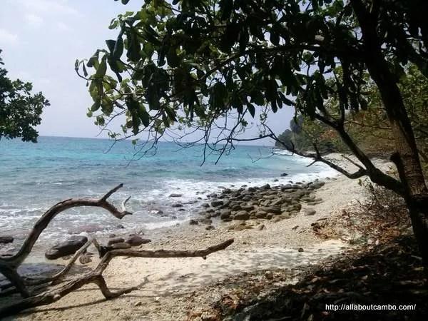 побережье Камбоджи