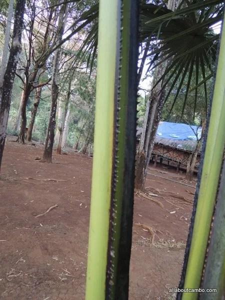 нож крестьянина в Лаосе