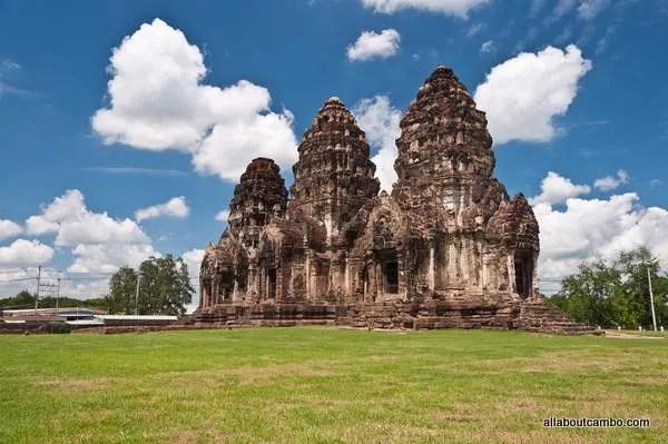 ангкорские руины в таиланде