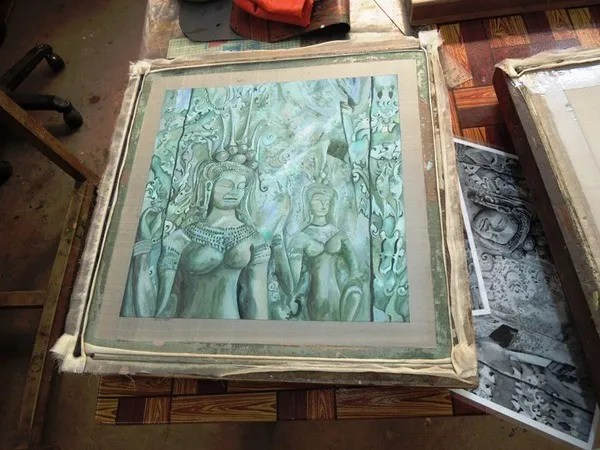 картины в камбодже