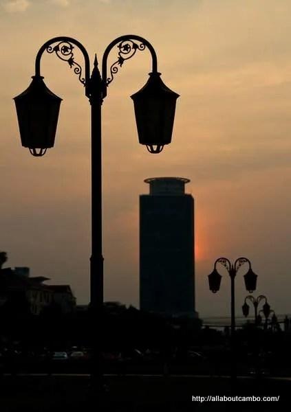 вечерний Пномпень