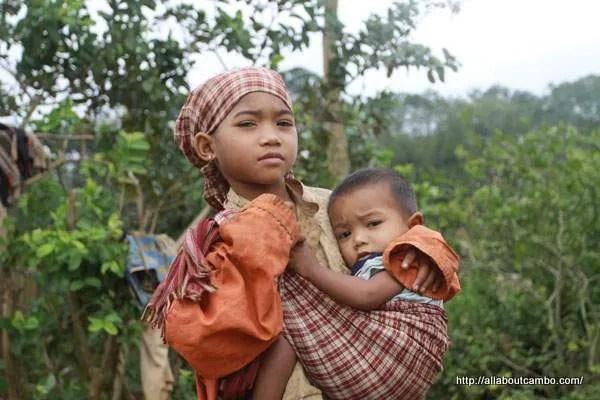 дети кхмеры
