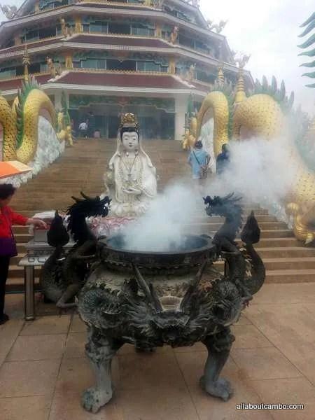 Китайский Храм Гуанин в Тайланде