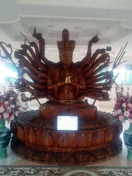 Храм Гуанин в Северном Тайланде