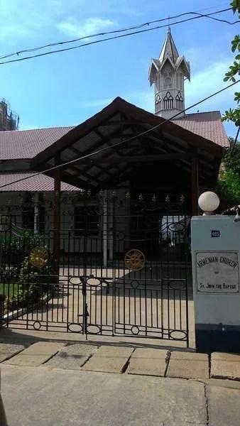 Армянсксая церковь в Янгоне