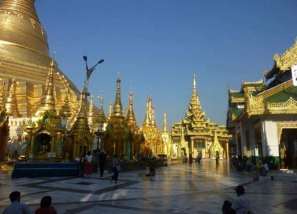 Бирма, пагода Шведагон