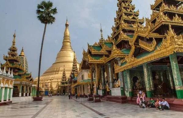 Янгон, пагода Шведагон