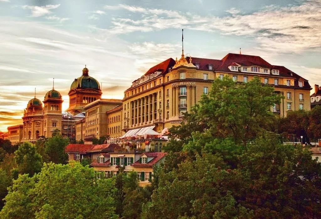 Hotel Bellevue Palace Bern-featured