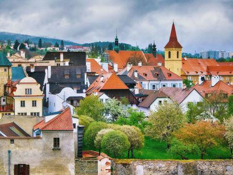 Old city Cesky Krumlov