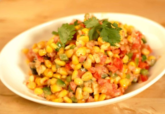 Healthy Snack – Corn Bhel