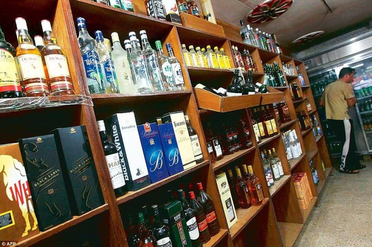 Home deliveries for alcohol in Delhi