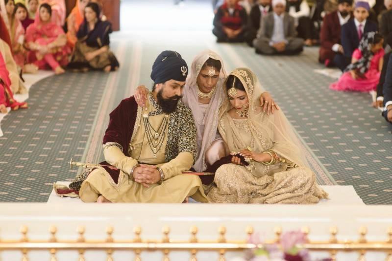 kanyadaan, palla ceremony, anand karaj