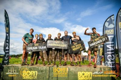 All About Food Takes On Born Survivor