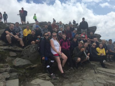 To the Peak of Snowdon with a Cause