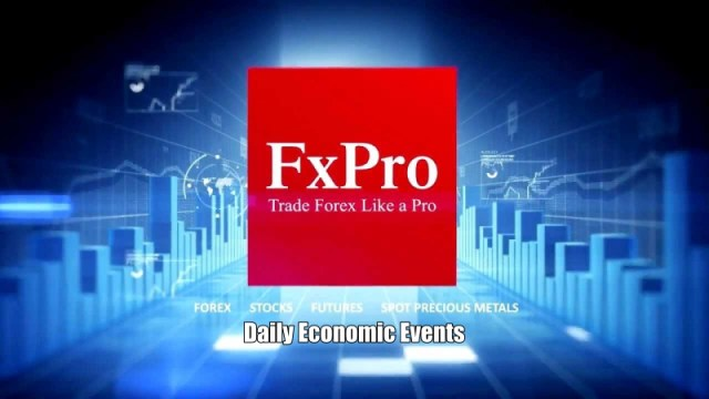 FxPro Daily Economic Events