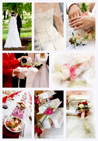 Wedding Services Collage