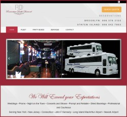 Romantique Double Diamond Limousine Website
