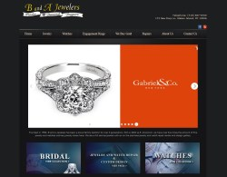 B and A Jewelers Website