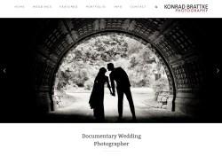 Konrad Brattke Wedding Photography Website