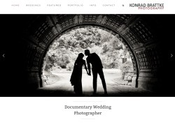 Konrad Brattke Wedding Photography Website