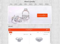 Pierre's Jewelry Store Website