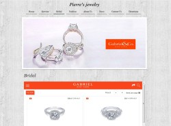 Pierre's Jewelry Store Website
